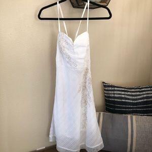 GUC Free People White Dress Size Small